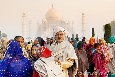 Taj mahal Editorial Stock Photo