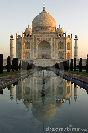 Free Taj Mahal - Agra - India Stock Photo - 14026940