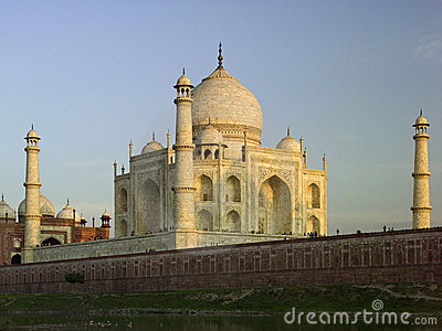 Taj Mahal - Agra - India Editorial Photo