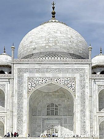 Taj Mahal - Agra - India Editorial Photography