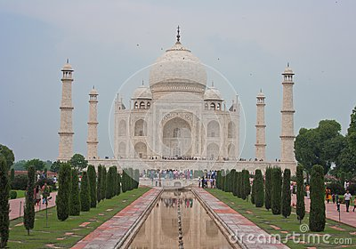 Taj Mahal, Agra (India) Editorial Stock Image