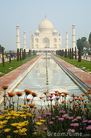 Free Taj Mahal Agra India Royalty Free Stock Photos - 4628818