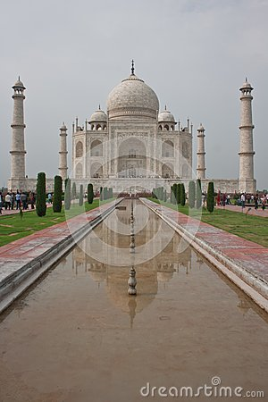 Taj Mahal, Agra (India) pic02 Editorial Stock Photo