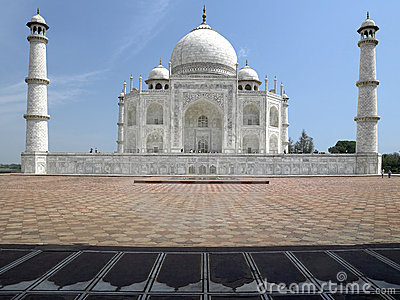 Taj Mahal - Agra - Uttar Pradesh - India Editorial Photography