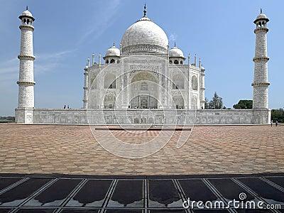 Taj Mahal - Agra - Uttar Pradesh - India