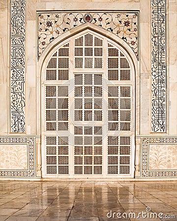 Taj Mahal Door