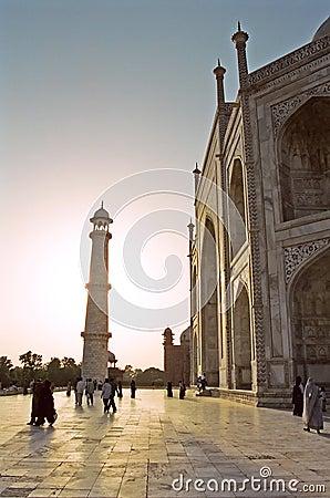 Taj Mahal, India Editorial Photography