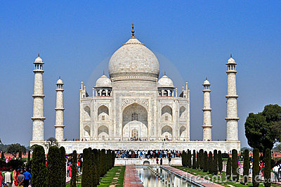Taj Mahal,India Editorial Stock Photo
