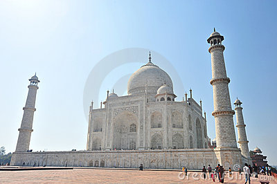 Taj Mahal India Editorial Image