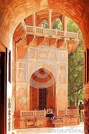 Taj Mahal India Editorial Stock Photo