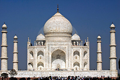 Taj Mahal.India Editorial Stock Image
