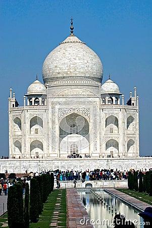 Taj Mahal.India Editorial Photo