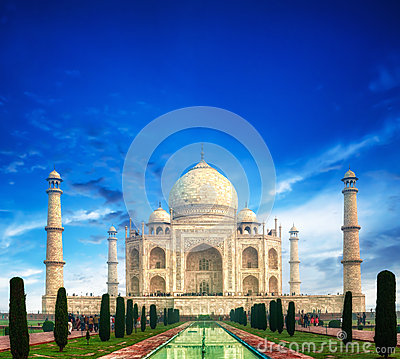 Free Taj Mahal India Royalty Free Stock Photography - 29901467