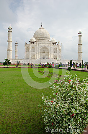 Taj Mahal, India Editorial Stock Photo