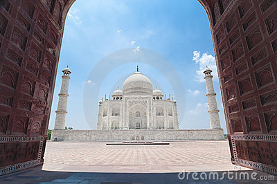 Taj Mahal from Jawab