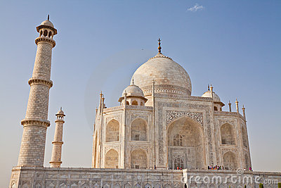 Taj Mahal located in Agra 11 Editorial Stock Image