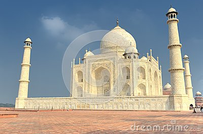 The Taj Mahal mausoleum