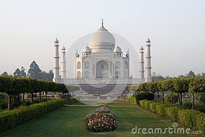 Taj Mahal Mausoleum Stock Images - Image: 25619694