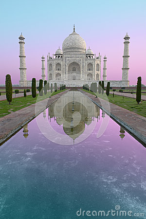 Taj Mahal Sunrise, Travel to Agra, India