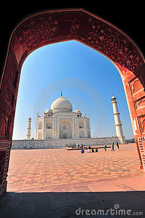 Taj Mahal,India Editorial Stock Image