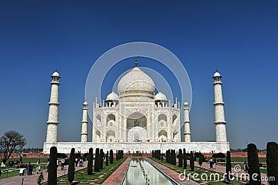 Taj Mahal,India Editorial Photo