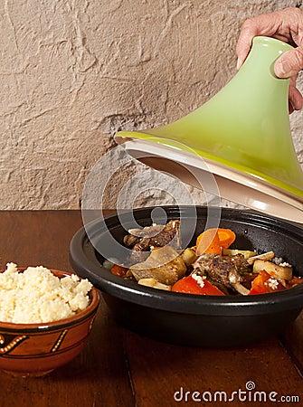 Tajine moroccan dish