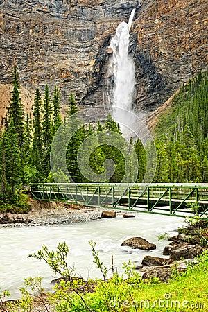 Takakkaw Falls waterfall in Yoho Park, Canada