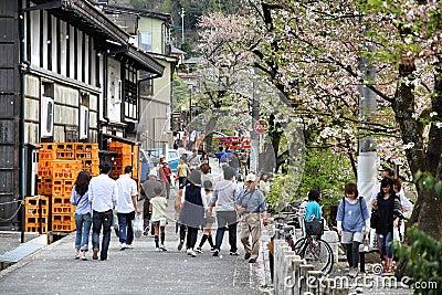 Takayama, япония Редакционное Фото