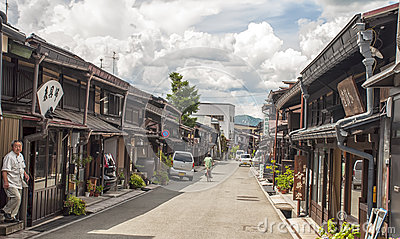 Takayama,Japan Editorial Stock Image
