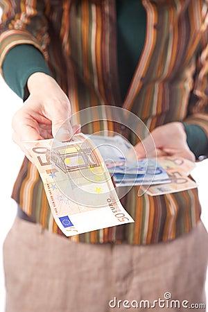 Take 50 euros