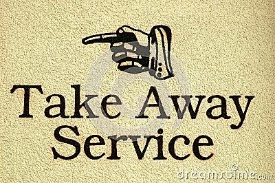Take Away Service
