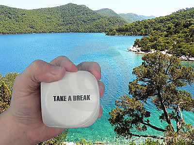Take a break - Book your vacation