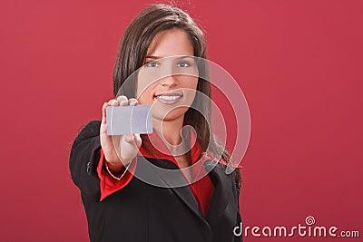 Take the credit card