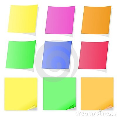Multicolor Post-it Collection