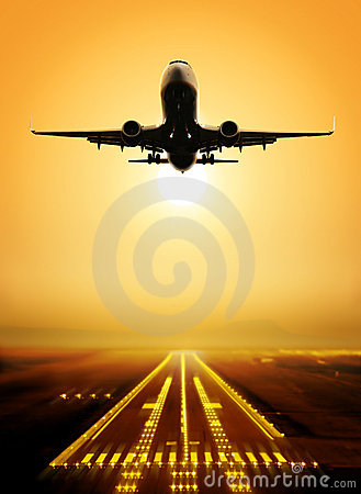 Free Take-off Runway Royalty Free Stock Photo - 17024745