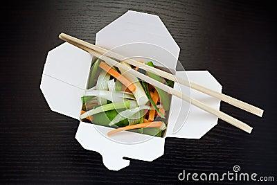 Take out salad