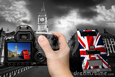 Take a photo of Big Ben, London