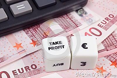 Take profit Euro