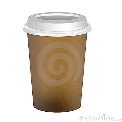 Takeaway Coffee Cup Stock Photos - Image: 23299343