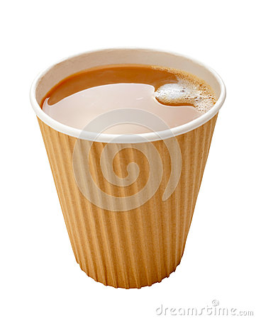 Takeaway Coffee Disposable Cup Milk