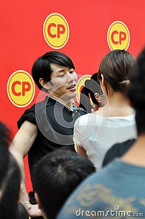 Free Takeru Kobayashi At Biggest Eater Competition 2010 Stock Photography - 16037712