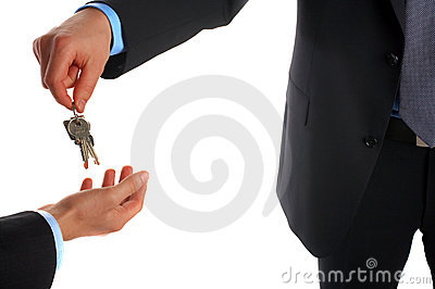 Taking over the business, home or car. Selling or buying.