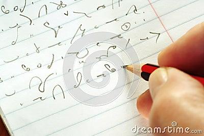 Taking Shorthand