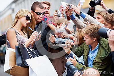 Taking time to please my fans