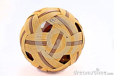 Takraw-ball-on