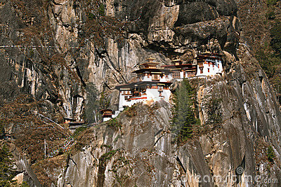 Taktshang Monastery (Tiger s Nest) in Bhutan