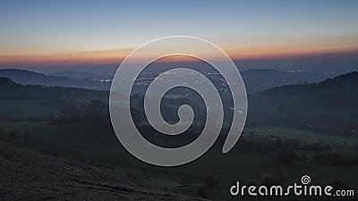 Tal von Gloucester in Cotswold Vereinigtes Königreich stock footage