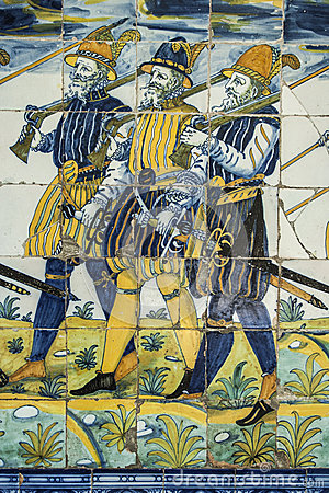 Talavera pottery, tiles Basilica del Prado, Talavera de la Reina