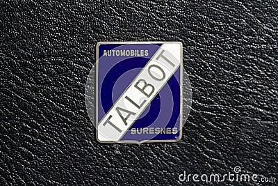Talbot Automobiles Logo Editorial Photography