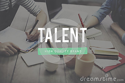 Talent Skill Abilities Expertise Quality Concept Stock Photo